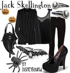 """Blog Me: """"Disfraz"""" de Jack Skellington - fácil"""