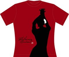 Bailaora. Color Rojo (Camiseta-Mujer) | Camisetas | Boutique de España || es flamenco