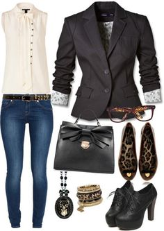 Business Casual- love the tops... but could do without the rest.