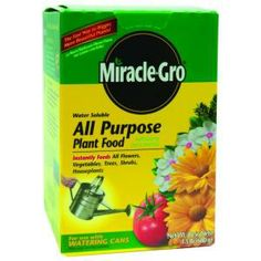Miracle-Gro 1.5 lb. All-Purpose Plant Food-1001122 at The Home Depot