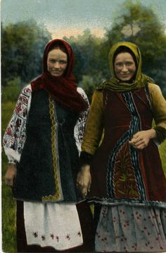 Traditional russian costumes