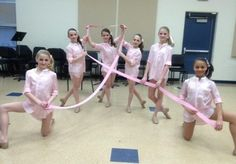 Dance Moms group dance Living With The Ribbon. This dance was about living with cancer and I think it is absolutley brilliant! Dance Moms Facts, Dance Moms Dancers, Dance Mums, Dance Moms Girls, Dance Moms Brooke, Abby Lee, Group Dance, Show Dance, Mackenzie Ziegler