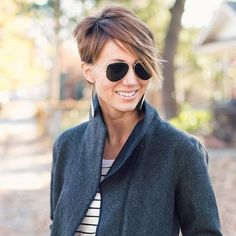 Pixie Haircut with Layers