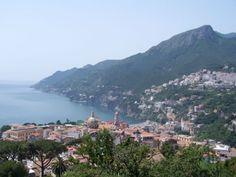 Vietri sul Mare in the province of #Salerno