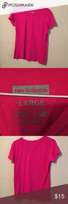 New Balance running t-shirt Hot pink running/work out shirt. New Balance Tops Tees - Short Sleeve