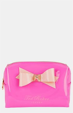 Ted Baker London Small Bow Cosmetics Case | Nordstrom