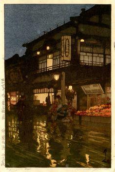 Kagurazaka Dori - Hiroshi Yoshida