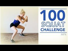 100 Squat Challenge | MFit - YouTube