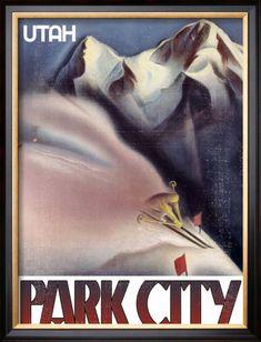 Vintage Park City Art