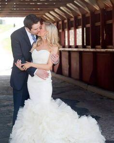 Kiss   Vera Wang Lark wedding dress
