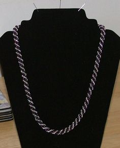 My 2nd Russian Spiral Necklace.