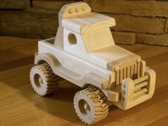 Wooden Off Road Jeep by KringleWorkshops on Etsy