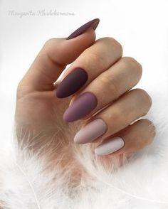 40 Hochzeitsnägel Elegant Nails elegant nails for wedding Cute Acrylic Nails, Matte Nails, Pink Nails, Gradient Nails, Matte Nail Colors, Manicure Colors, Fall Nail Colors, Black Nails, Elegant Nails