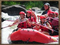Lower Pigeon River Rafting