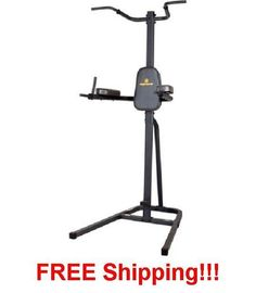 Power Tower Multi-Station Home Gym Pull Up Dip Workout Dip Flex Bar Exercise