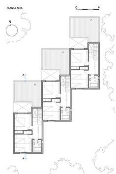 CLF Houses / Estudio BaBO,Plan
