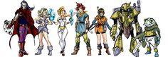 Chrono Trigger Fan Art all characters by *randomality85 on deviantART