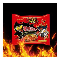 Spicy Chicken Noodles, Birthday Menu, K Food, Food Backgrounds, Spicy Sauce, Chicken Flavors, Rice Cakes, Korean Food, Snack