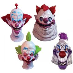 Killer Klowns from Outer Space Mask Scary Clown Halloween Costume Fancy Dress Scary Clown Halloween Costume, Halloween Horror Nights, Scary Clowns, Creative Halloween Costumes, Halloween Prop, Halloween Pumpkins, Outer Space Crafts For Kids, Outer Space Costume, Outer Space Decorations