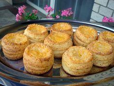 Nem vagyok mesterszakács: Vajas – sajtos leveles pogácsa és pogácsa kosárkák...