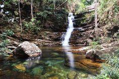 Cachoeira das Loquinhas, Chapada dos Veadeiros, Goiás