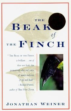 The Beak of the Finch : A Story of Evolution in Our Time by Jonathan Weiner. Pulitzer Prize for Non-Fiction, 1995. https://libcat.bentley.edu/record=b1093773~S0