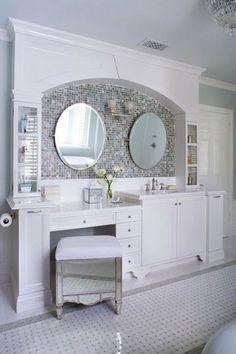 Beautiful Ideas Built In Bathroom Vanity Alluring Built In Bathroom Vanity Design