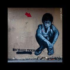 Street Art By Richard Texier - Paris