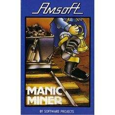 Manic Miner for Amstrad CPC by Amsoft on Tape