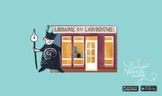 Los mejores productos de Francia están en el blog. Cada día revelamos un idea de regalo de Navidad original como la librería du Labyrinthe en Amiens