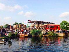 Cafe De Ceuvel Amsterdam: green hotspot in North   http://www.yourlittleblackbook.me/cafe-de-ceuvel-amsterdam/