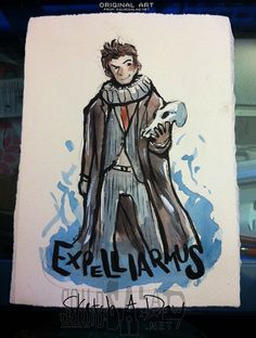 10th Doctor David Tennant Doctor Who Shakespeare by SquidSaladShop, $20.00