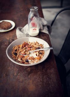 Granola from The Grounds Sydney photographed by Katie Quinn Davies