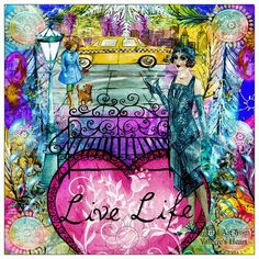 """Live Life"", a project by Val52"