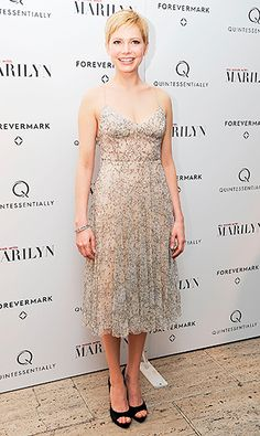 Michelle Williams' Sophisticated Style Moments: My Week with Marilyn Premiere
