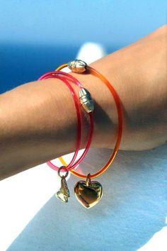 Saint-Tropez collection, by Lilou!  Create your own at : http://lilouparis.com/en/configurator/bracelets