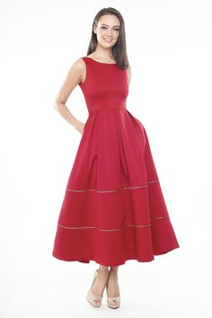 3 TIER 3 LOOKS DRESS IN RED | Intoxiquette