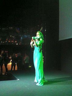 Elsa #electricviolin @teatrovetra #milano @cocacolalife #green @elsamartignoni