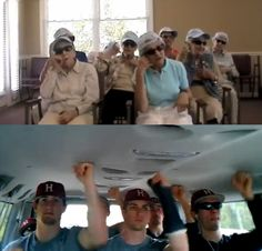 """These awesome Anderson, South Carolina Grannies prove that there is no age limit for being awesome! Watch their video response to the """"Harvard Baseball 2012 Call Me Maybe Cover"""" http://youtu.be/Ywybe42mckM"""