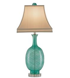 This 1 light Table Lamp from the Artois collection by Currey & Company will enhance your home with a perfect mix of form and function. The features include a Aqua Blown Glass/Clear finish applied by experts. Check the right-hand bar or call our dedicated Sales Team for similar items and additional options not pictured.