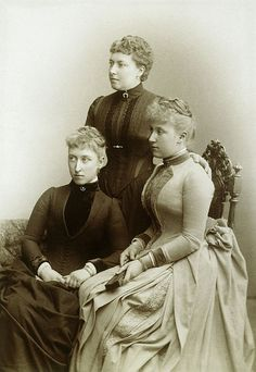 HRH THE PRINCESS HELENA OF SCHLESWIG HOLSTEIN AND HER DAUGHTERS HELENA VICTORIA AND MARIE LOUISE | Flickr - Photo Sharing!