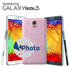 #Android #phone #Galaxy Note Samsung Galaxy Note 3 32GB 5.7″ 4G SM-N900T GSM Unlocked Black White 156.99       Item specifics     Condition:        Seller refurbished: An item that has...