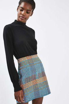 495b48fdae6 Carousel Image 2 A Line Mini Skirt