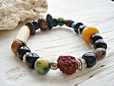 Men's Yoga Bracelet  Man's Yoga Jewellery  by HandcraftedYoga, $30.00