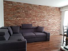 Sofa, Couch, Wall, Furniture, Home Decor, Decoration Home, Room Decor, Settee, Sofas