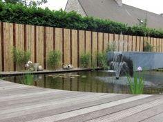 Moderne Bamboe tuinafsluiting - Meer info op http://www.afsluitingtuin.be/bamboe-afsluiting-plaatsen-prijs/