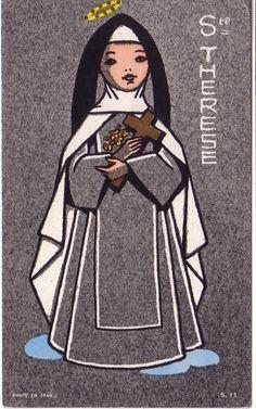 Sainte Thérèse de l'Enfant-Jésus Old Catholic Church, Catholic Saints, Patron Saints, Sainte Therese, St Therese Of Lisieux, Religious Pictures, God Jesus, Sacred Heart, Names Of Jesus