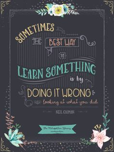 Design a Hand Lettering-Inspired Poster with your favorite quote - from Design Cuts
