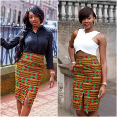 African Clothing African Pencil Skirt African Print Skirt Wax Print... (£31) ❤ liked on Polyvore featuring skirts, black, women's clothing, pencil skirt, black knee length pencil skirt, black high waisted skirt, black evening skirt and patterned pencil skirt
