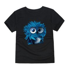 Design By Humans Funny Grumpy Steampunk Owl Girls Youth Graphic T Shirt